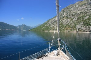 Morning cruise from Kotor Montenegro on Yacht Monty B