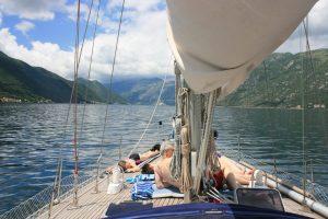 Sailing boat trip in Boka Kotorska on Yacht Monty B