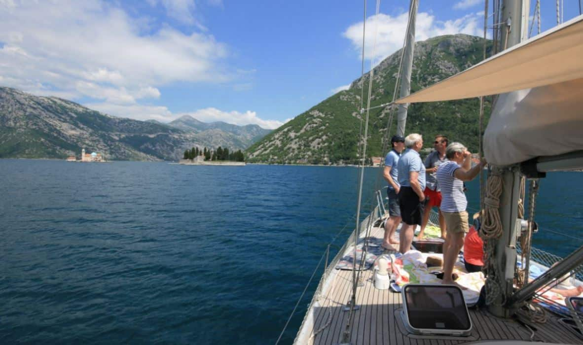 Our Summer 2017 has started – join one of our fantastic sailing boat trips in Kotor and Tivat bay