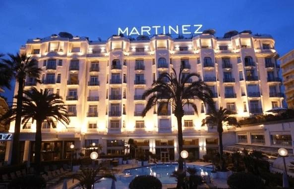 Hôtel de luxe Cannes