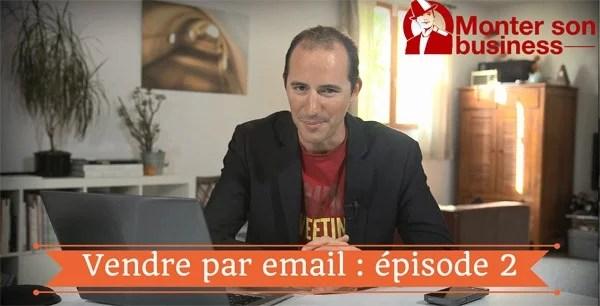 vendre par email