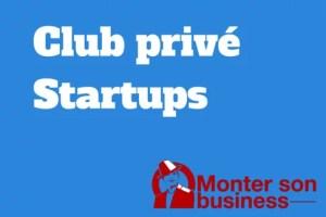 club privé startups
