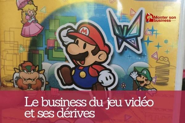 business jeu vidéo
