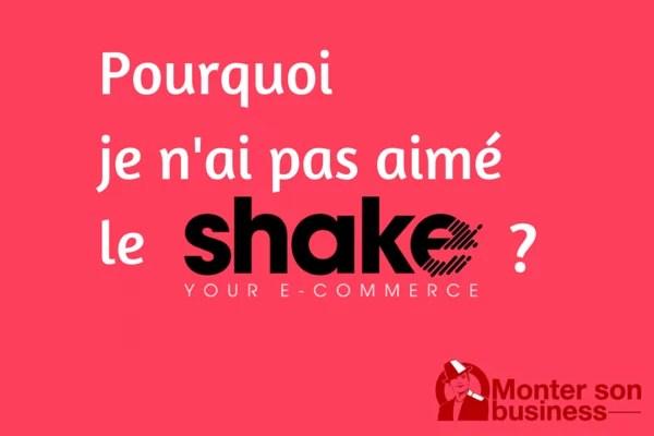shake event marseille