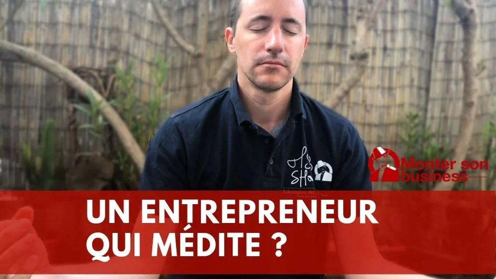 méditation entrepreneurs