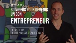 formation devenir entrepreneur