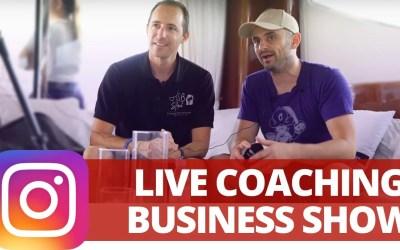 Live coaching business show : l'émission qui secoue les entrepreneurs