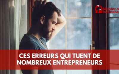 5 erreurs qui ruinent beaucoup d'entrepreneurs !
