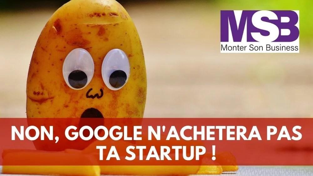 vendre startup