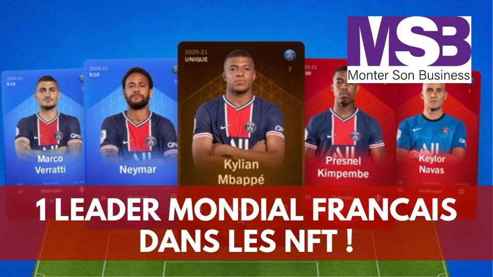 leader mondial français nft crypto