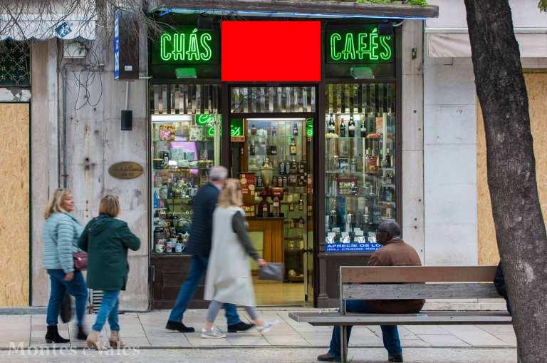 Consegue identificar esta loja?