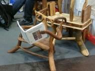 Messe Stuhl