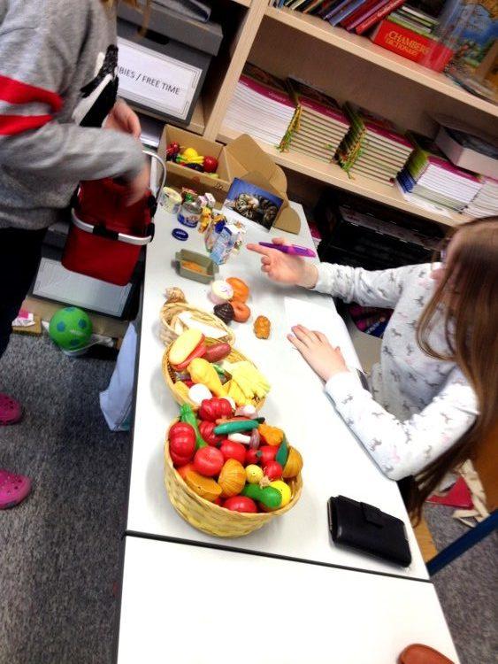 Montessori Grundschule Königs Wusterhausen_Markttreiben und Shopping im Englischunterricht_5