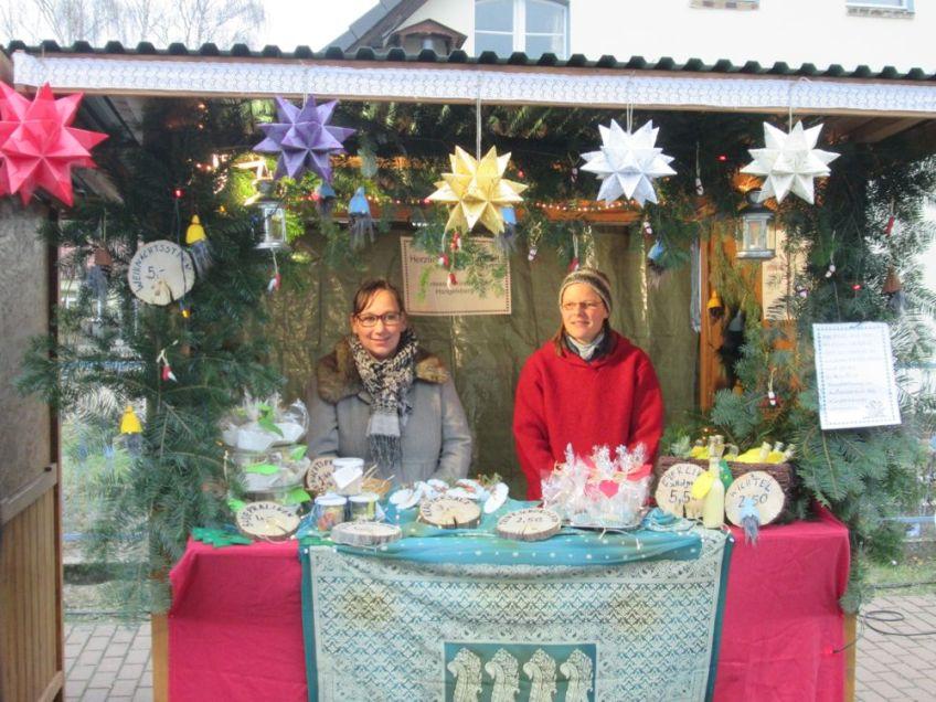 Montessori Kinderhaus beim Adventsmarkt in Hangelsberg 2015_1
