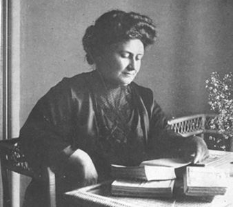 """We'll talk later…"" Maria Montessori in Laren (1936 – 1939)"