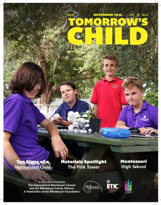 Tomorrow's Child / November 2016