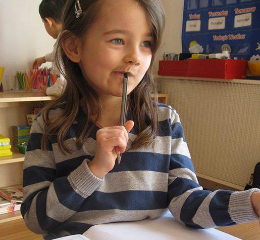 Dear Cathie: Montessori For The Kindergarten Year