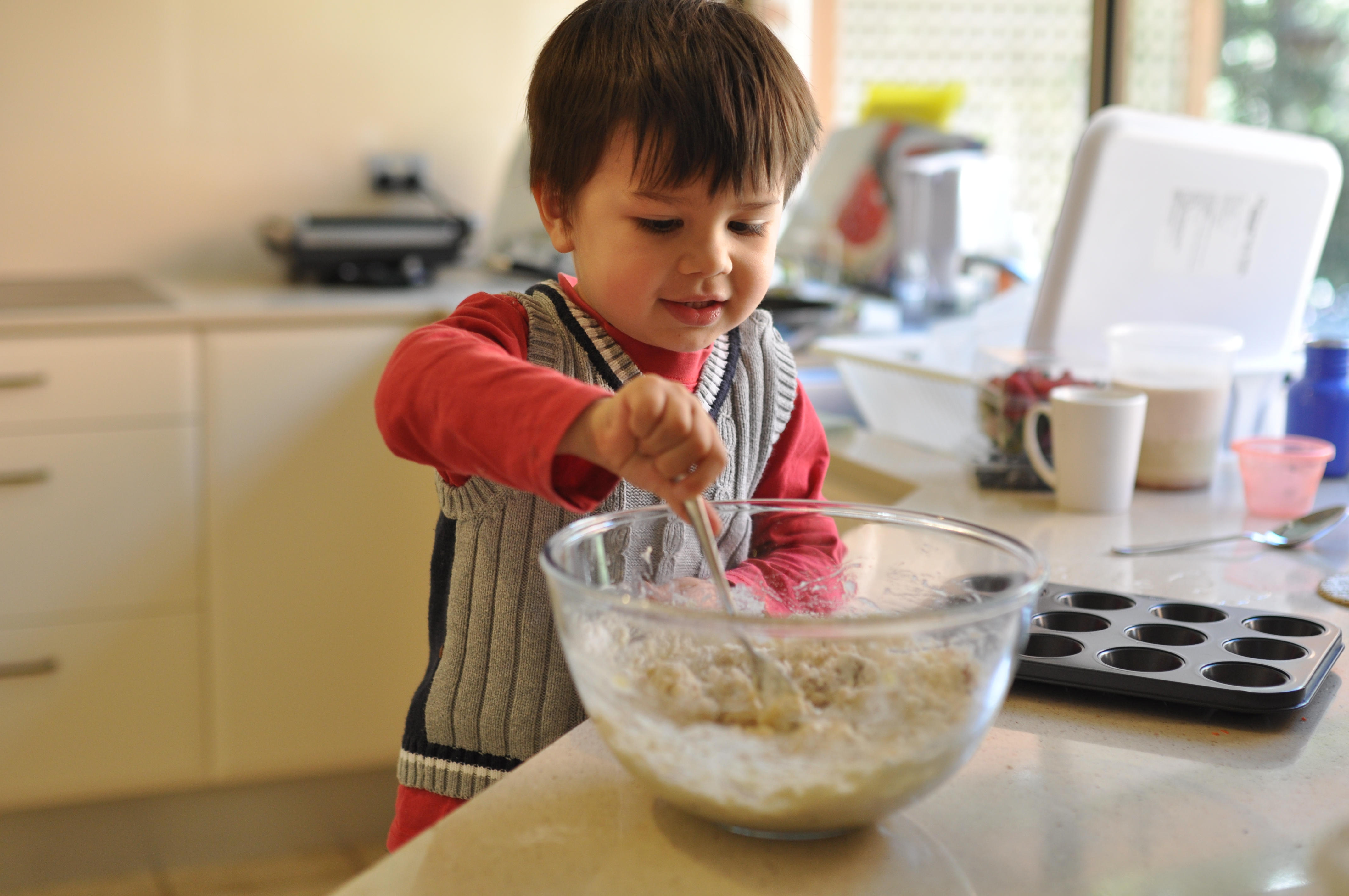 Baking With Toddlers And Preschoolers Montessori And Me