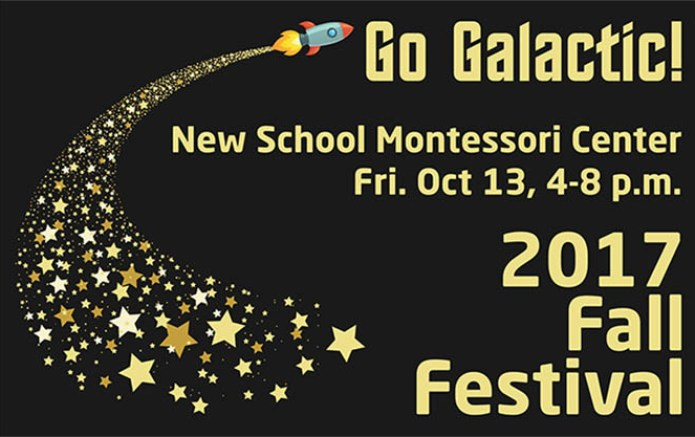 2017 fall festival go galactic graphic shows dates title rocket stars dark background