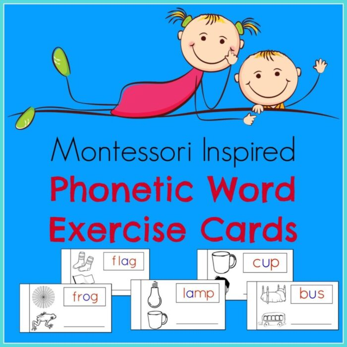Phonetic Words Exercise Cards