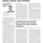 Equity, access, and curiosity