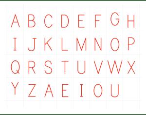 Montessori Printable Alphabets