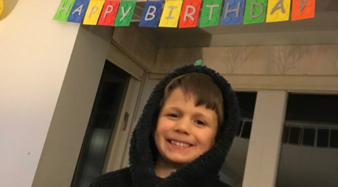 Seb's 6th Birthday Lego Party