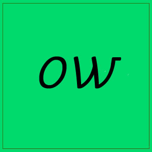 ow – sounds