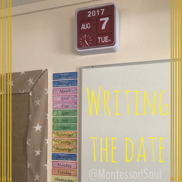 Dates in the classroom