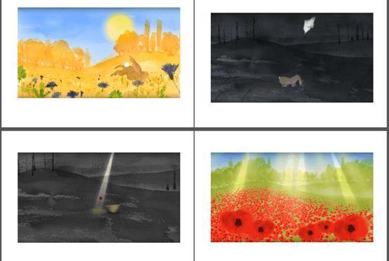 CBEEBIES Poppy Animation screen grabs