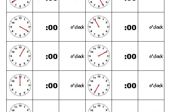 Telling time hour hand only