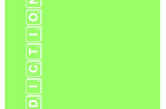 Personal Dictionary – Lime Green