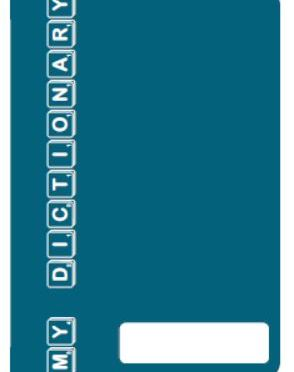 Personal Dictionary – Teal