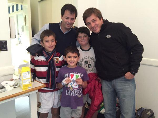 06-04-alumnos de Los Molinos visitan a Juani F en Mater Dei
