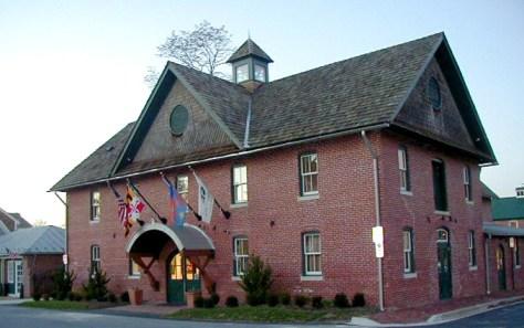 Arts Barn Exterior