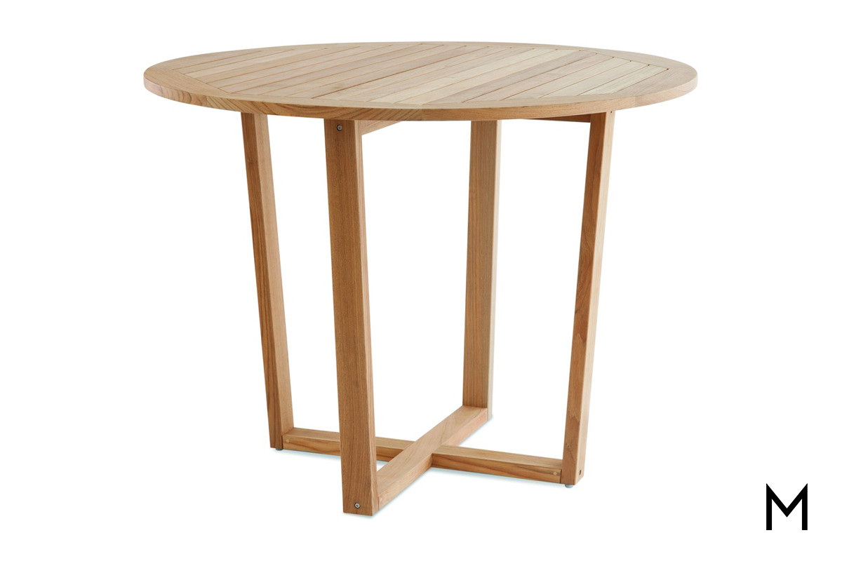 blue rock counter height patio table