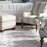 Carlyle Accent Chair In Blush And Pebble Finish