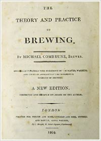 Title page of 1804 edition of Combrune's Theory and Practice of Brewing
