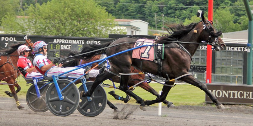 Cash Roll Fastest in Monticello Sire Stakes