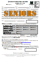 Inscription Seniors