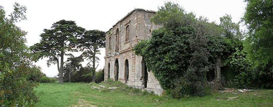 Villa del polacco Bosniaski sul Castellare