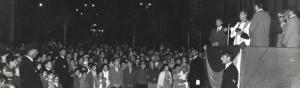 Inaugurazione Piazza Buccari - 1960