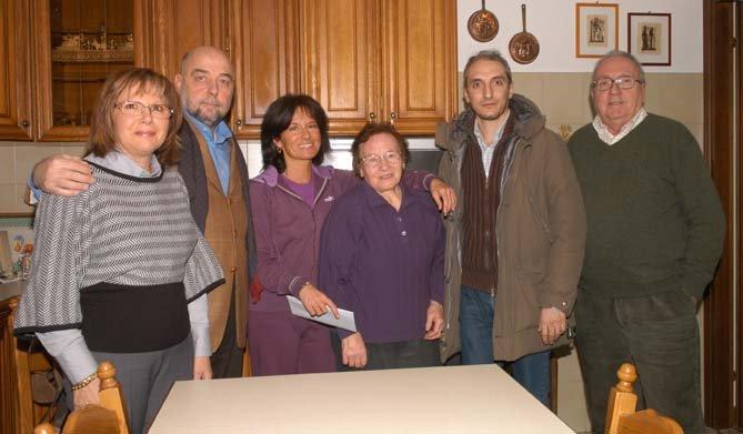 Marta Bertini, Giovanni Cacciatori, Claudia Rama, Silvia Benedetti, Roberto Rubele e Renzo Farinati