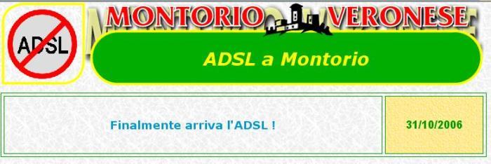 Finalmente arriva l'ADSL