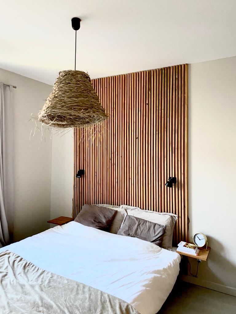 Tutoriel Tete de lit en tasseaux à faire soi-même