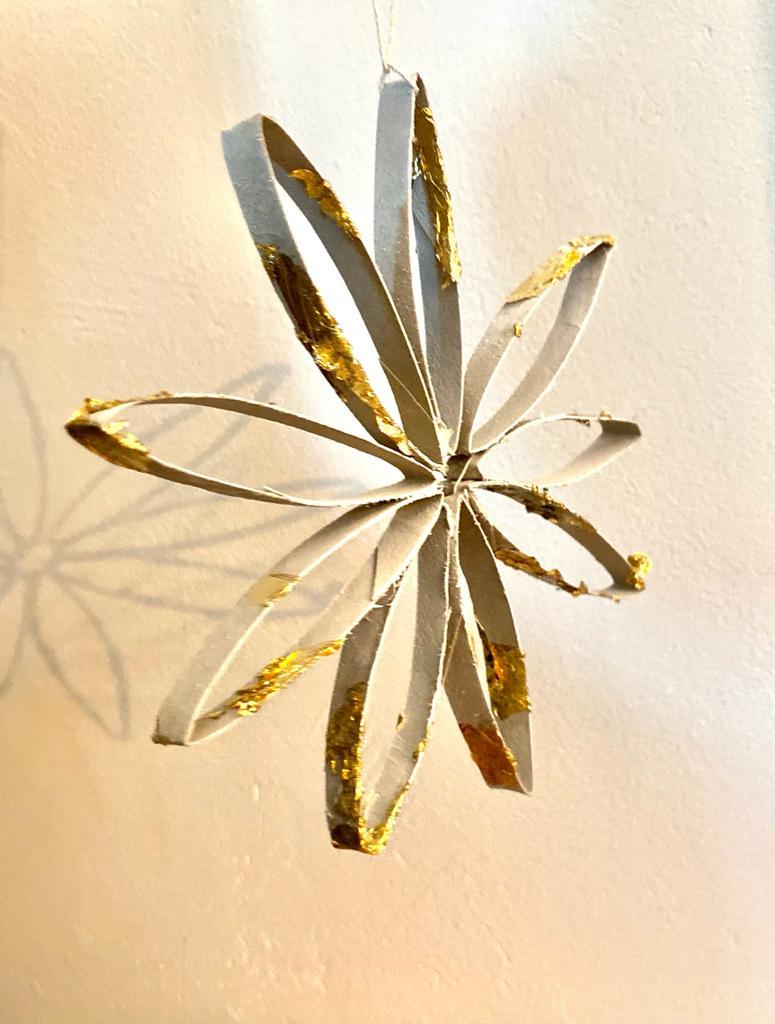 Fleurs décoration noël DIY