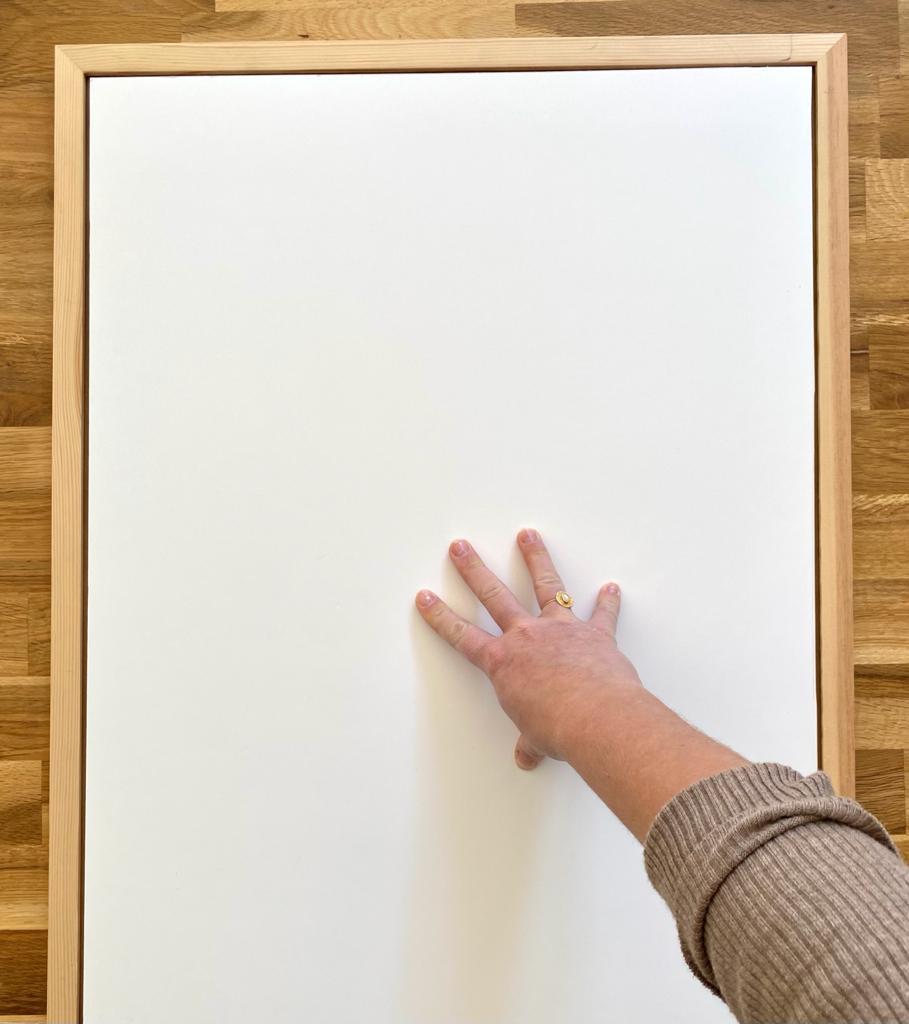 Réaliser un tableau minimaliste soi-même