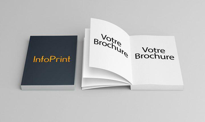 Impression brochure dos carré collé à Montpellier