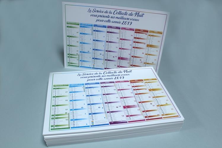 Impression calendriers à Montpellier