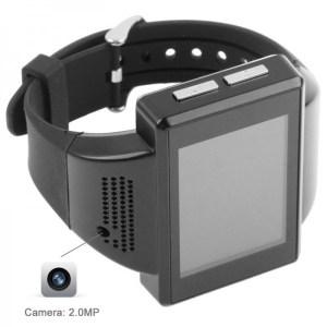 la caméra espion est dissimulée dans la coque de la montre caméra téléphone